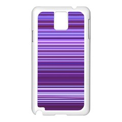 Stripe Colorful Background Samsung Galaxy Note 3 N9005 Case (White)
