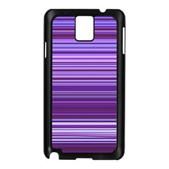 Stripe Colorful Background Samsung Galaxy Note 3 N9005 Case (Black)