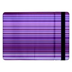 Stripe Colorful Background Samsung Galaxy Tab Pro 12.2  Flip Case