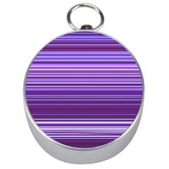 Stripe Colorful Background Silver Compasses