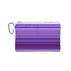 Stripe Colorful Background Canvas Cosmetic Bag (s)