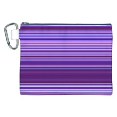 Stripe Colorful Background Canvas Cosmetic Bag (XXL)