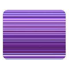 Stripe Colorful Background Double Sided Flano Blanket (Large)
