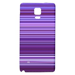 Stripe Colorful Background Galaxy Note 4 Back Case