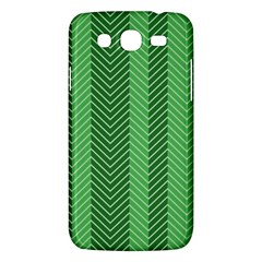 Green Herringbone Pattern Background Wallpaper Samsung Galaxy Mega 5 8 I9152 Hardshell Case