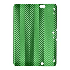 Green Herringbone Pattern Background Wallpaper Kindle Fire Hdx 8 9  Hardshell Case