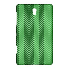 Green Herringbone Pattern Background Wallpaper Samsung Galaxy Tab S (8.4 ) Hardshell Case