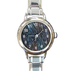 Abstract Background Wallpaper Round Italian Charm Watch