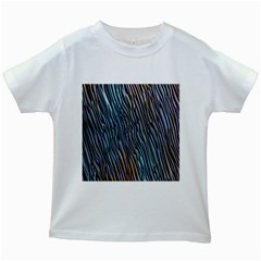 Abstract Background Wallpaper Kids White T-Shirts
