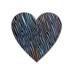 Abstract Background Wallpaper Heart Magnet