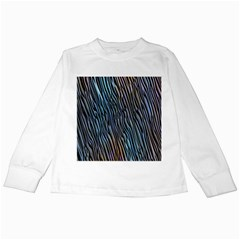 Abstract Background Wallpaper Kids Long Sleeve T Shirts