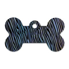 Abstract Background Wallpaper Dog Tag Bone (two Sides)