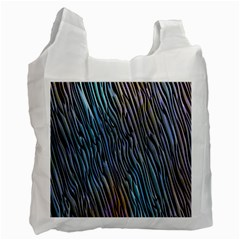 Abstract Background Wallpaper Recycle Bag (two Side)
