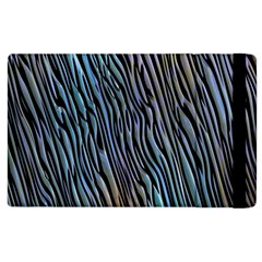 Abstract Background Wallpaper Apple iPad 3/4 Flip Case
