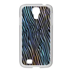 Abstract Background Wallpaper Samsung GALAXY S4 I9500/ I9505 Case (White)