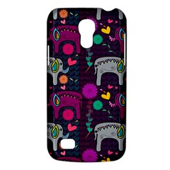 Colorful Elephants Love Background Galaxy S4 Mini