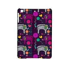 Colorful Elephants Love Background iPad Mini 2 Hardshell Cases