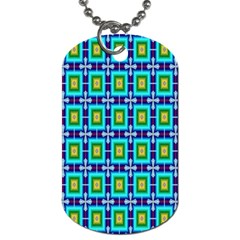 Seamless Background Wallpaper Pattern Dog Tag (one Side)