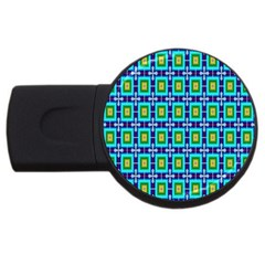 Seamless Background Wallpaper Pattern Usb Flash Drive Round (2 Gb)