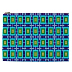 Seamless Background Wallpaper Pattern Cosmetic Bag (xxl)