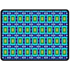 Seamless Background Wallpaper Pattern Double Sided Fleece Blanket (Large)