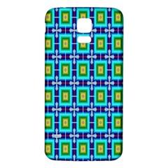 Seamless Background Wallpaper Pattern Samsung Galaxy S5 Back Case (White)