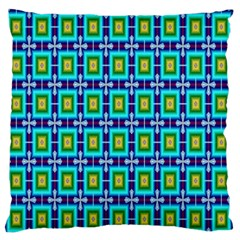 Seamless Background Wallpaper Pattern Large Flano Cushion Case (Two Sides)