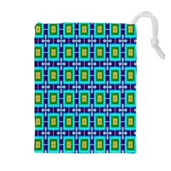 Seamless Background Wallpaper Pattern Drawstring Pouches (extra Large)