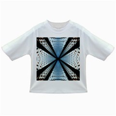 Dimension Metal Abstract Obtained Through Mirroring Infant/Toddler T-Shirts