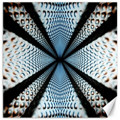 Dimension Metal Abstract Obtained Through Mirroring Canvas 20  X 20