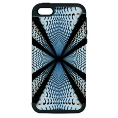 Dimension Metal Abstract Obtained Through Mirroring Apple iPhone 5 Hardshell Case (PC+Silicone)