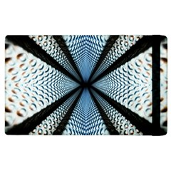 Dimension Metal Abstract Obtained Through Mirroring Apple iPad 2 Flip Case