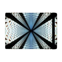 Dimension Metal Abstract Obtained Through Mirroring Apple iPad Mini Flip Case