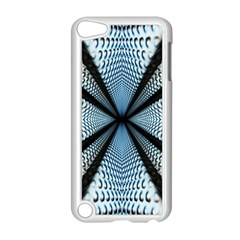Dimension Metal Abstract Obtained Through Mirroring Apple iPod Touch 5 Case (White)