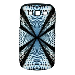 Dimension Metal Abstract Obtained Through Mirroring Samsung Galaxy S III Classic Hardshell Case (PC+Silicone)