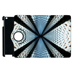 Dimension Metal Abstract Obtained Through Mirroring Apple iPad 2 Flip 360 Case