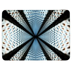 Dimension Metal Abstract Obtained Through Mirroring Samsung Galaxy Tab 7  P1000 Flip Case