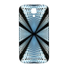 Dimension Metal Abstract Obtained Through Mirroring Samsung Galaxy S4 I9500/I9505  Hardshell Back Case