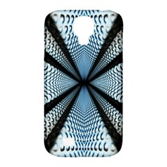 Dimension Metal Abstract Obtained Through Mirroring Samsung Galaxy S4 Classic Hardshell Case (PC+Silicone)