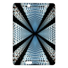 Dimension Metal Abstract Obtained Through Mirroring Amazon Kindle Fire HD (2013) Hardshell Case