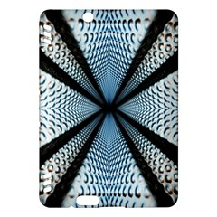 Dimension Metal Abstract Obtained Through Mirroring Kindle Fire HDX Hardshell Case