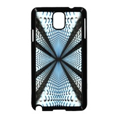 Dimension Metal Abstract Obtained Through Mirroring Samsung Galaxy Note 3 Neo Hardshell Case (black)