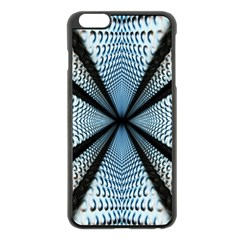 Dimension Metal Abstract Obtained Through Mirroring Apple Iphone 6 Plus/6s Plus Black Enamel Case