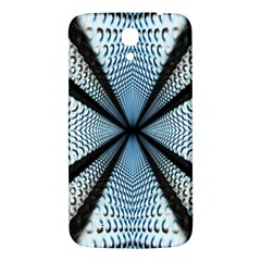 Dimension Metal Abstract Obtained Through Mirroring Samsung Galaxy Mega I9200 Hardshell Back Case