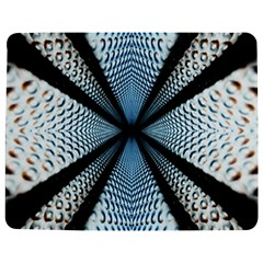 Dimension Metal Abstract Obtained Through Mirroring Jigsaw Puzzle Photo Stand (Rectangular)