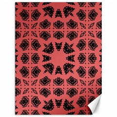 Digital Computer Graphic Seamless Patterned Ornament In A Red Colors For Design Canvas 12  X 16