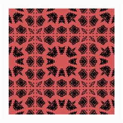 Digital Computer Graphic Seamless Patterned Ornament In A Red Colors For Design Medium Glasses Cloth