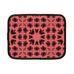 Digital Computer Graphic Seamless Patterned Ornament In A Red Colors For Design Netbook Case (small)