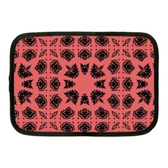 Digital Computer Graphic Seamless Patterned Ornament In A Red Colors For Design Netbook Case (medium)