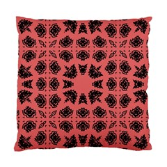 Digital Computer Graphic Seamless Patterned Ornament In A Red Colors For Design Standard Cushion Case (one Side)